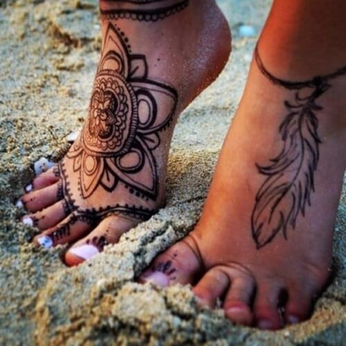 Henna Tattoo Powder